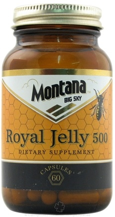 DROPPED: Montana Naturals - Royal Jelly 500 mg. - 60 Capsules CLEARANCE PRICED