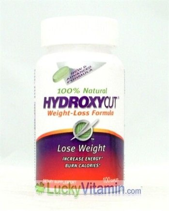 DROPPED: Muscletech Products - Hydroxycut Weight Loss Formula - 100 Caplets