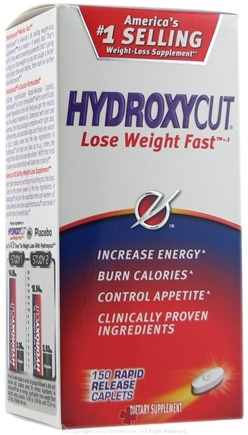 DROPPED: Muscletech Products - HydroxyCut Weight-Loss Formula - 150 Caplets