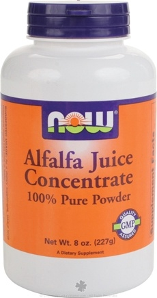 DROPPED: NOW Foods - Alfalfa Juice Concentrate Powder - 8 oz.
