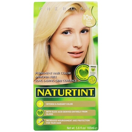 Naturtint - Permanent Hair Colorant 10N Light Dawn Blonde - 4.5 oz.