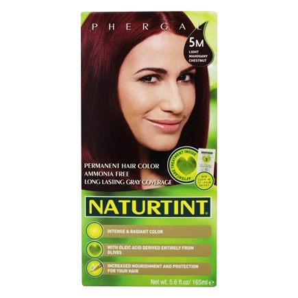 Naturtint - Permanent Hair Colorant 5M Light Mahogany Chestnut - 4.5 oz.