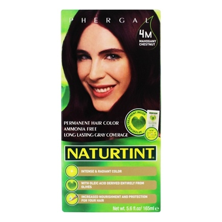 Naturtint - Permanent Hair Colorant 4M Mahogany Chestnut - 4.5 oz.