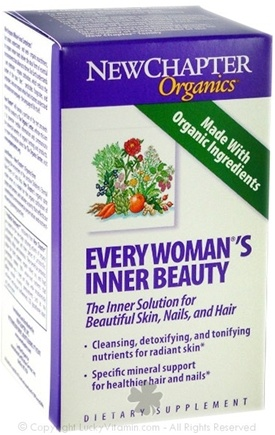 DROPPED: New Chapter - Every Woman's Inner Beauty - 60 Tablets