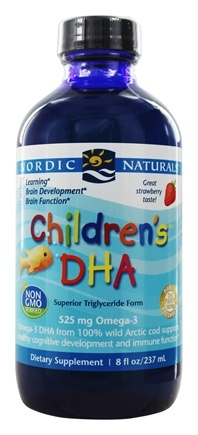 Nordic Naturals - Children's DHA Liquid Strawberry - 8 oz.