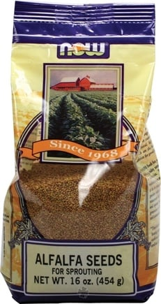 DROPPED: NOW Foods - Alfalfa Seeds - 1 lb.