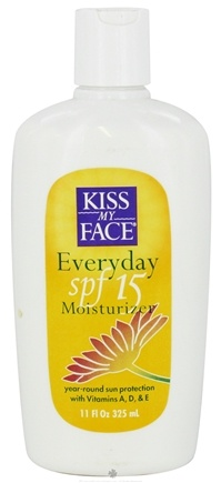 DROPPED: Kiss My Face - Moisturizer Everyday 15 SPF - 11 oz.