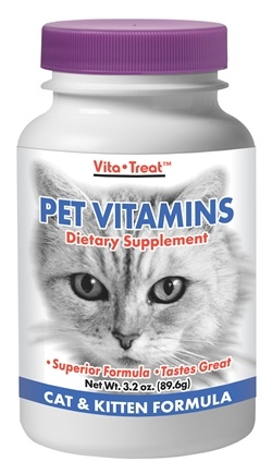DROPPED: Nutrition Now - Pet Vitamin Cat/Kitten - 3.2 oz.