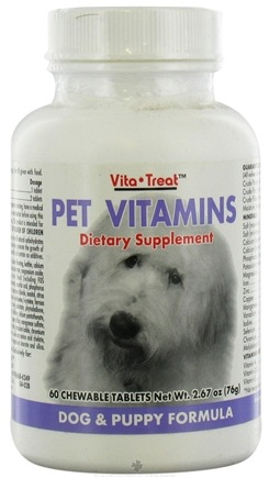 DROPPED: Nutrition Now - Pet Vitamin DogPuppy - 60 Tablets