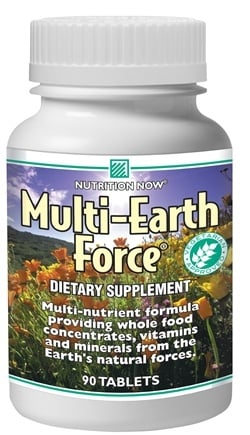 DROPPED: Nutrition Now - Multi-Earth Force - 90 Tablets
