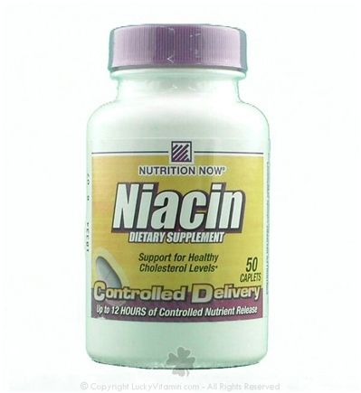 DROPPED: Nutrition Now - Niacin Controlled Delivery - 50 Caplets