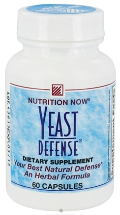 DROPPED: Nutrition Now - Yeast Defense - 60 Capsules