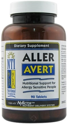 DROPPED: Nutritional Therapeutics - Aller Avert - 90 Tablets
