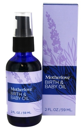 DROPPED: Motherlove - Birth & Baby Massage Oil - 2 oz. CLEARANCE PRICED