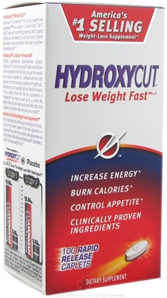 DROPPED: Muscletech Products - HydroxyCut Weight-Loss Formula - 100 Capsules