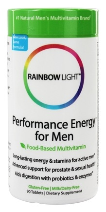 Rainbow Light - Performance Energy Multivitamin for Men - 90 Tablets