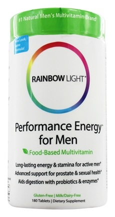 Rainbow Light - Performance Energy Multivitamin for Men - 180 Tablets