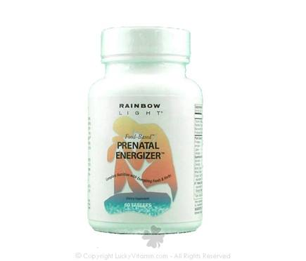 DROPPED: Rainbow Light - Pre-Natal Energizer - 60 Tablet(s)