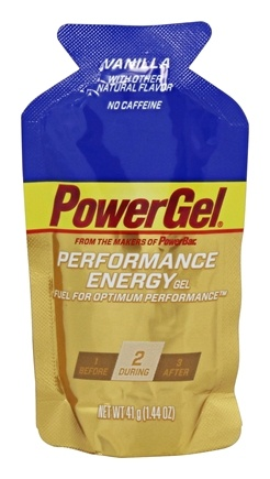 DROPPED: Powerbar - Energy Gel Vanilla - 1.44 oz.