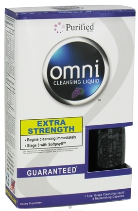 DROPPED: Purified Brand - Omni Cleansing Liquid Extra Strength Grape Flavor