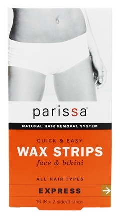 Parissa - Quick And Easy Wax Strips Face & Bikini - 16 Strip(s)