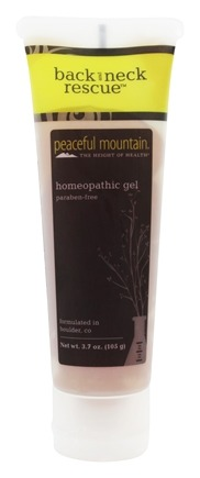 Peaceful Mountain - Back & Neck Rescue Gel - 3.5 oz.