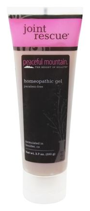Peaceful Mountain - Joint Rescue Gel Natural Herbal Formula - 3.5 oz.