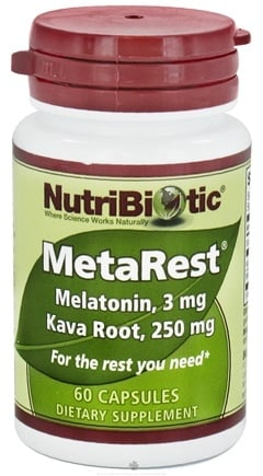 DROPPED: Nutribiotic - MetaRest Capsules - 60 Capsules CLEARANCE PRICED