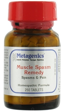 DROPPED: Metagenics - Muscle Spasm Remedy - 250 Tablets CLEARANCE PRICED