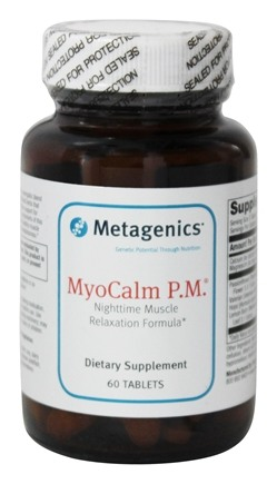 Metagenics - MyoCalm P.M. - 60 Tablets