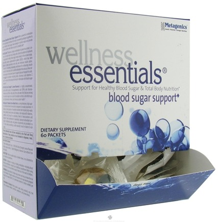 DROPPED: Metagenics - Wellness Essentials Blood Sugar Support - 60 Packet(s)