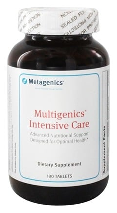 Metagenics - Multigenics Intensive Care - 180 Tablets