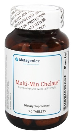 DROPPED: Metagenics - Multi-Min Chelate - 90 Tablets