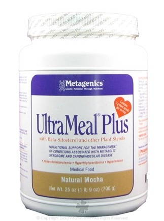 DROPPED: Metagenics - UltraMeal Plus Medical Food Natural Mocha - 23 oz.
