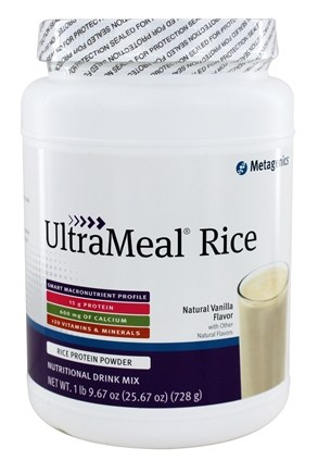 Metagenics - UltraMeal RICE Natural Vanilla - 26 oz.