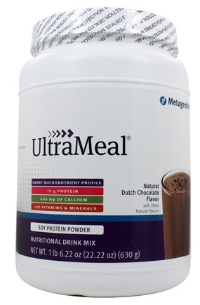 Metagenics - UltraMeal Medical Food Dutch Chocolate - 22.5 oz.