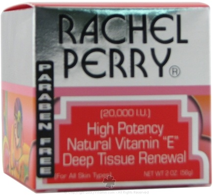 DROPPED: Rachel Perry - Hi Potency Natural Vitamin E Deep Tissue Renewal - 2 oz.