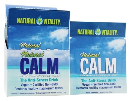 Natural Vitality - Natural Calm Anti-Stress Drink - 30 Packet(s)
