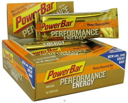 DROPPED: Powerbar - Performance Energy Bar Honey Roasted Nut - 2.29 oz. CLEARANCE PRICED