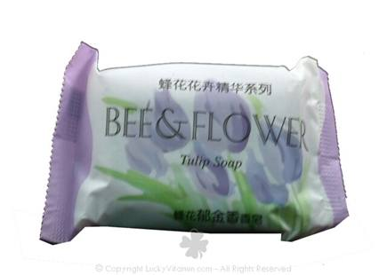 DROPPED: Bee & Flower Soap - Bar Soap Tulip - 2.7 oz. CLEARANCE PRICED