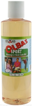 DROPPED: Olbas - Massage and Skin Conditioning Oil - 8 oz. CLEARANCE PRICED