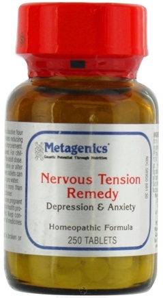 DROPPED: Metagenics - Nervous Tension Remedy - 250 Tablets Formerly HP 22 CLEARANCE PRICED