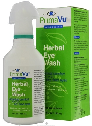 DROPPED: PrimaVu - Herbal Eye Wash - 4.58 oz.
