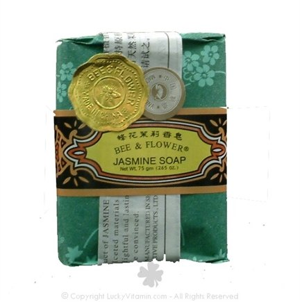 DROPPED: Bee & Flower Soap - Bar Soap Jasmine - 2.7 oz. CLEARANCE PRICED