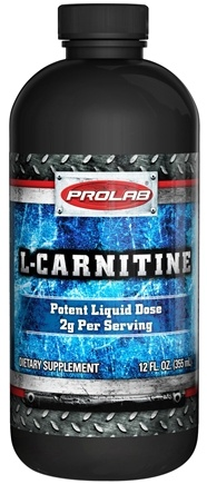 DROPPED: Prolab Nutrition - L-Carnitine Liquid - 12 oz. CLEARANCE PRICED