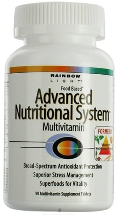 DROPPED: Rainbow Light - Advanced Nutritional System Multivitamin - 90 Tablets