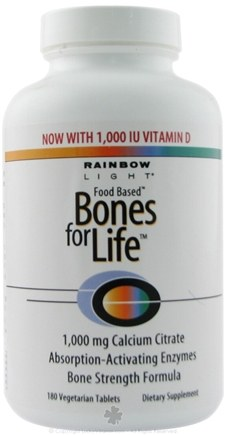 DROPPED: Rainbow Light - Bones for Life - 180 Tablet(s)