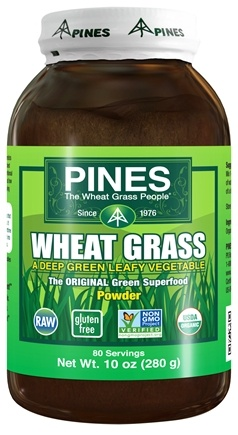 Pines - Wheat Grass Powder 100% Pure - 10 oz.