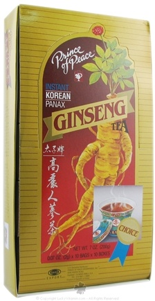 DROPPED: Prince of Peace - Instant Korean Panax Ginseng Tea - 100 Packet(s)