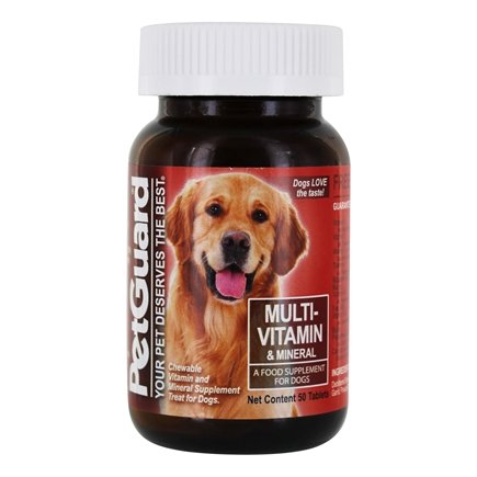 DROPPED: Pet Guard - Multi-Vitamin Mineral For Dogs - 50 Tablets